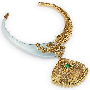 Anand Shah royal treasurer necklace