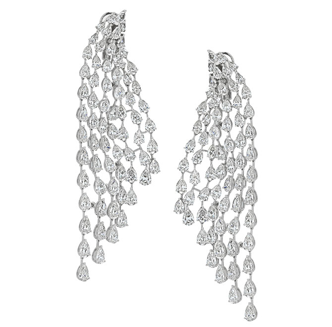 Beladora cascade earrings