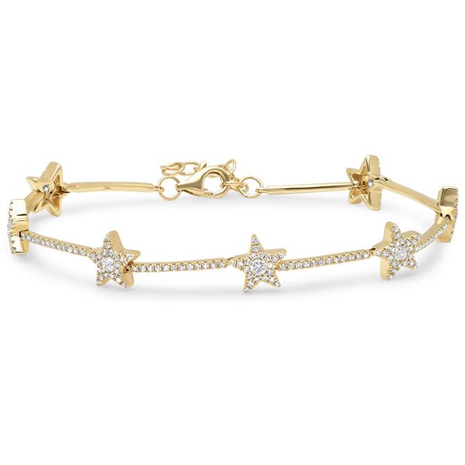 Shy Creation star tennis bracelet