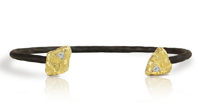 Sarah Graham Trigon cuff bracelet