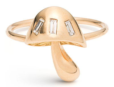 Brent Neale mushroom ring