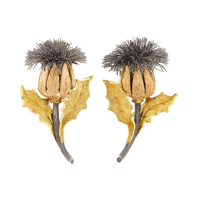 Buccellati ear clips