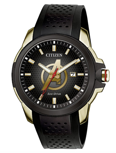 Citizen unveils marvel themed watches at new york comic con 2018 jck for Avenger watches