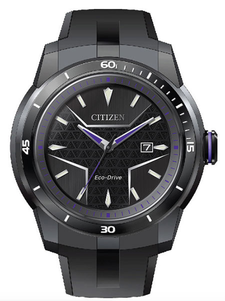 Citizen Watch Black Panther