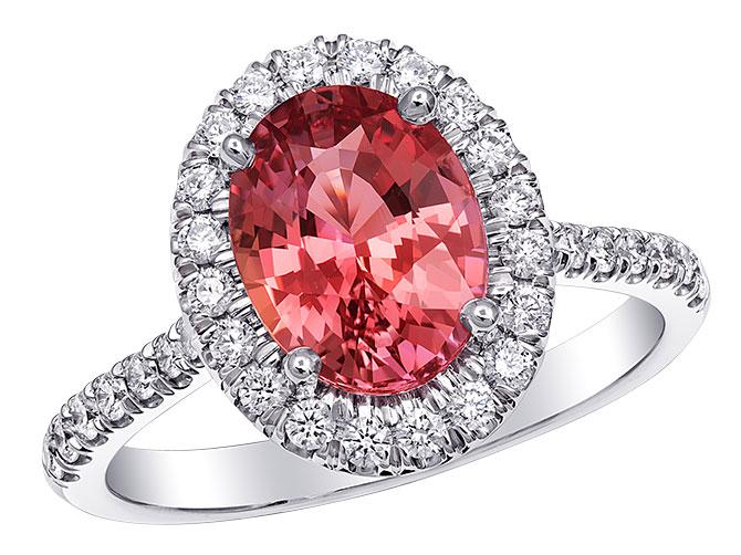 Coast Diamond pad sapphire ring