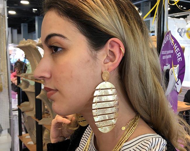 Creative Brazil earrings