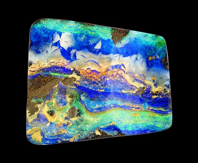 Dufty Weis boulder opal