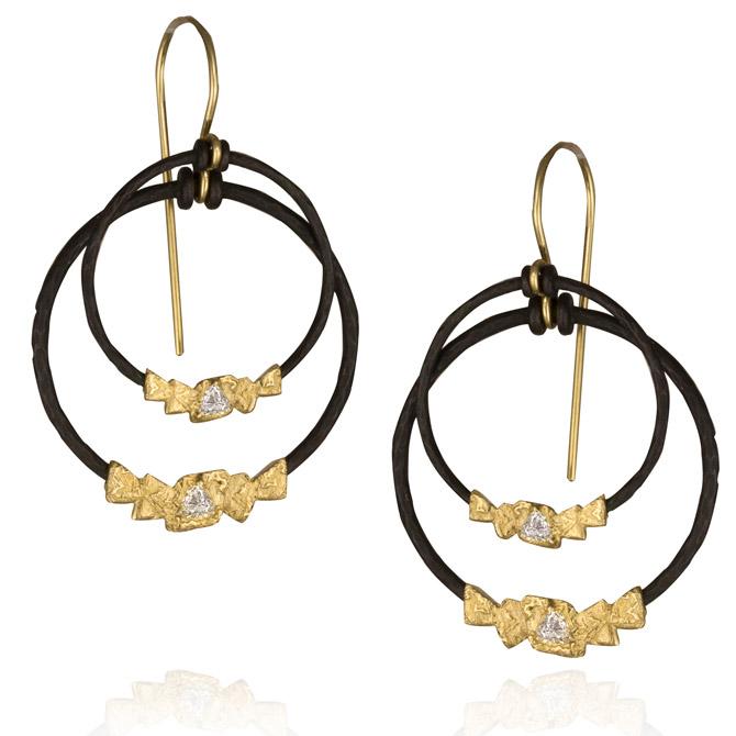 Sarah Graham Trigon collection earrings