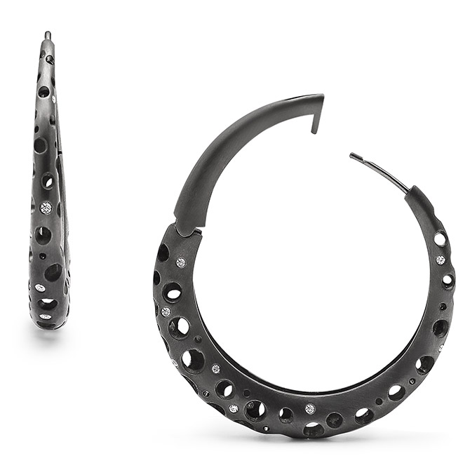 Dana Bronfman Oculus hoop earrings