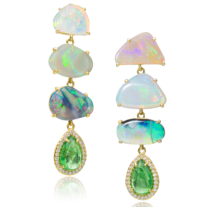 Lauren K opal drop earrings