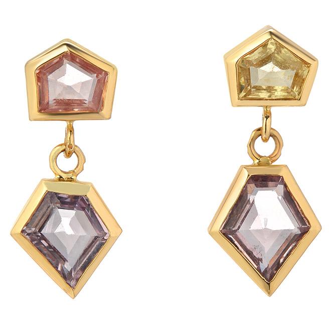 ERA Jewelry Interlock earrings