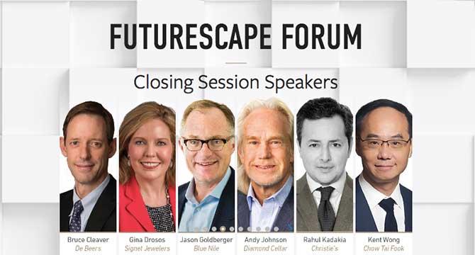 GIA 2018 International Symposium Futurescape Forum speakers