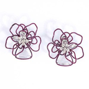 Glenn Spiro floral earrings
