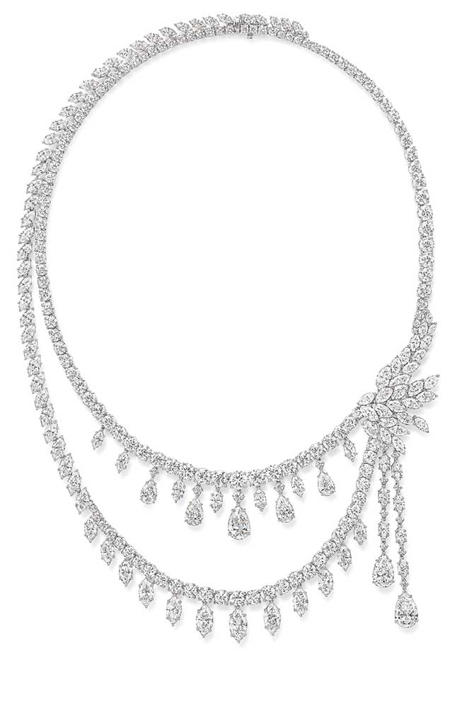 Harry Winston Chandelier necklace