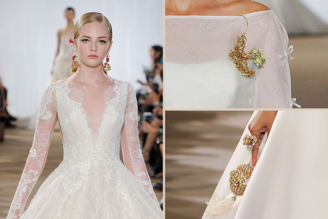 Ines Di Santo runway jewelry
