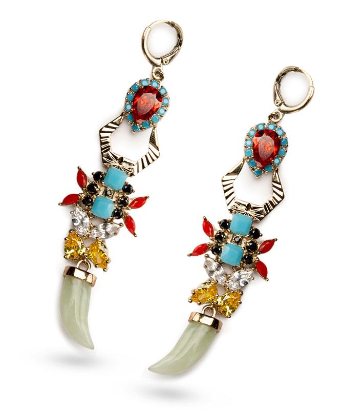 Iosselliani elegua earrings
