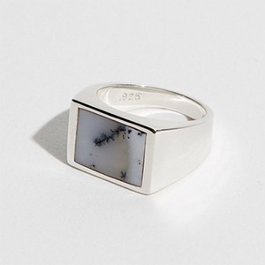 J Hannah inlay ring