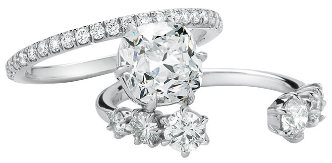 Jade Trau astor engagement and wedding ring
