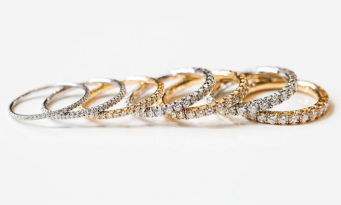 Marisa Perry diamond bands