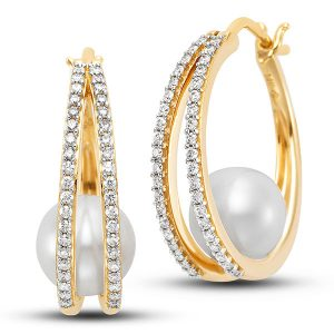 Mastoloni gifts from the sea double hoops