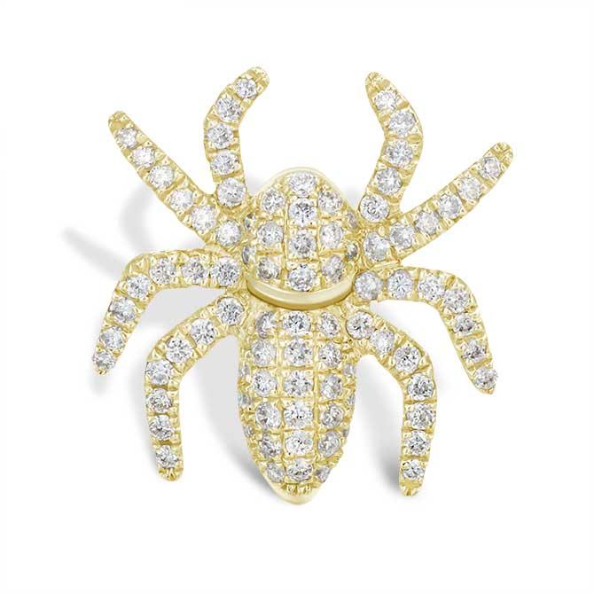 Mio Harutaka spider earring