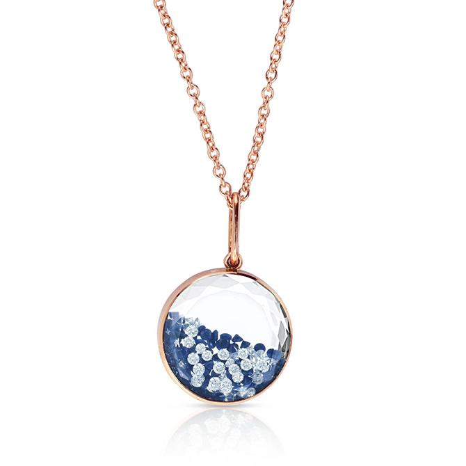 Moritz Glik lapis kaleidoscope shaker necklace