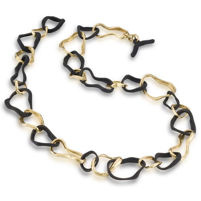 Sarah Graham Confluence link necklace