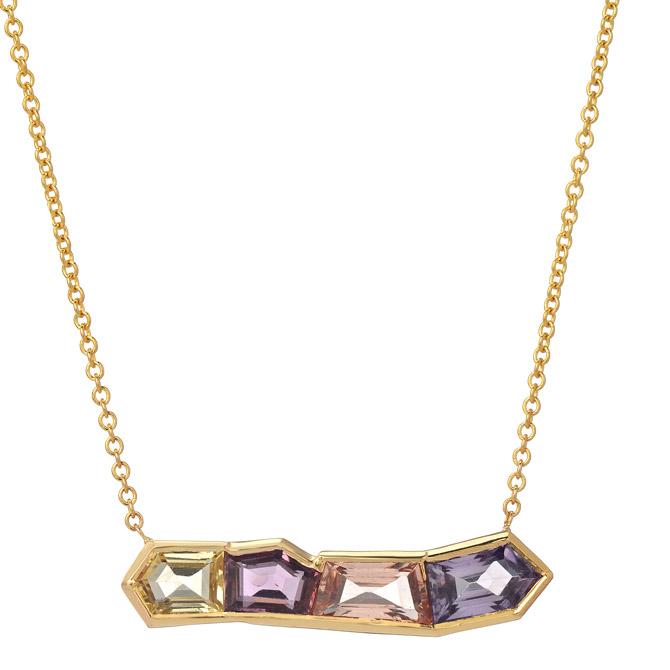 Era Jewelry Mosaic Row necklace