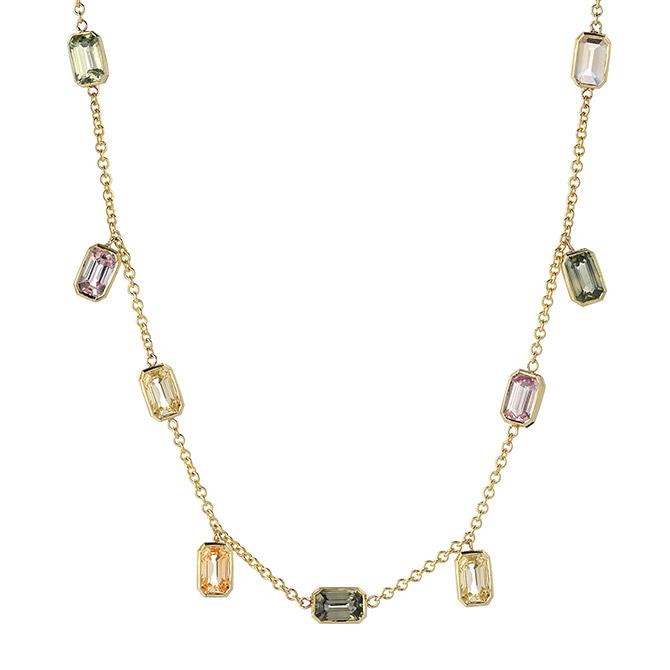 Era Jewelry Brick Brigade earth tone necklace