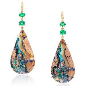 Opal earrings Lauren K