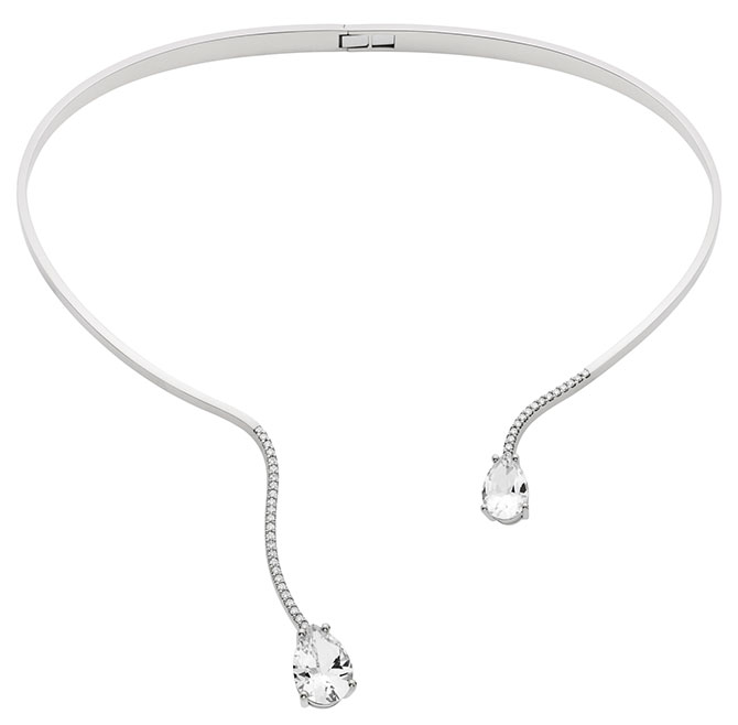 Paige Novick Swarovski arc en ciel necklace