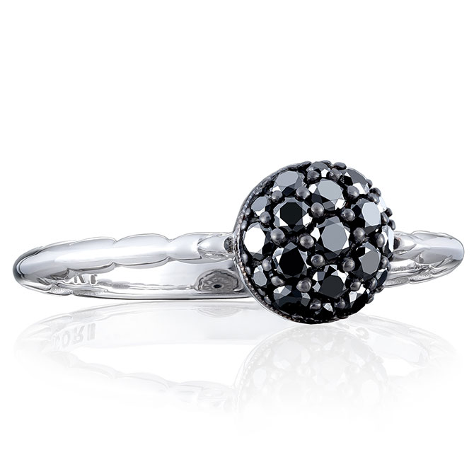 Tacori Sonoma black diamond ring