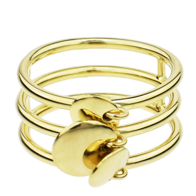 Sechic disc D'Or ring