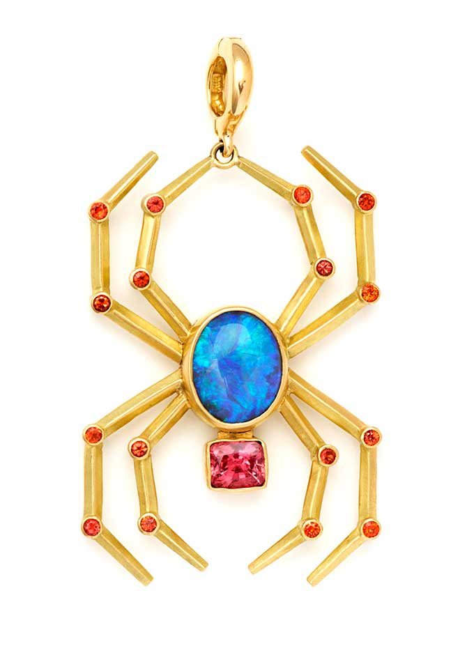 Rush Jewelry spider pendant