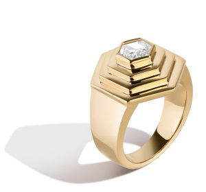 Selin Kent Diamond Foundry geo ring