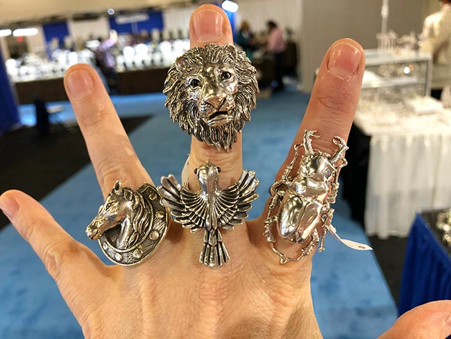 Soma International rings