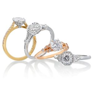 Tiny Jewel Box roslyn rings