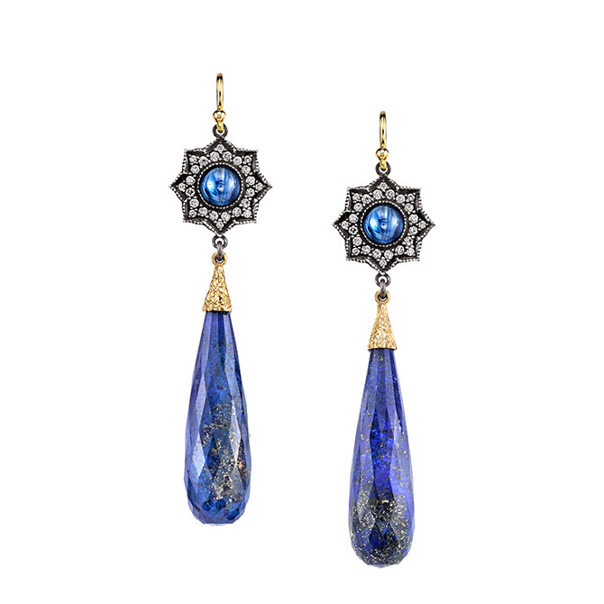 Arman Sarkisyan lapis earrings