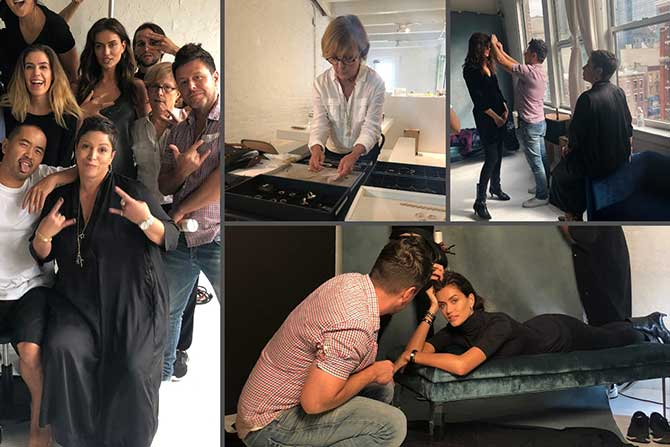Behind the Scenes Greenwich St Jewelers campaign