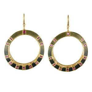 Brooke Gregson Talisman collection earrings