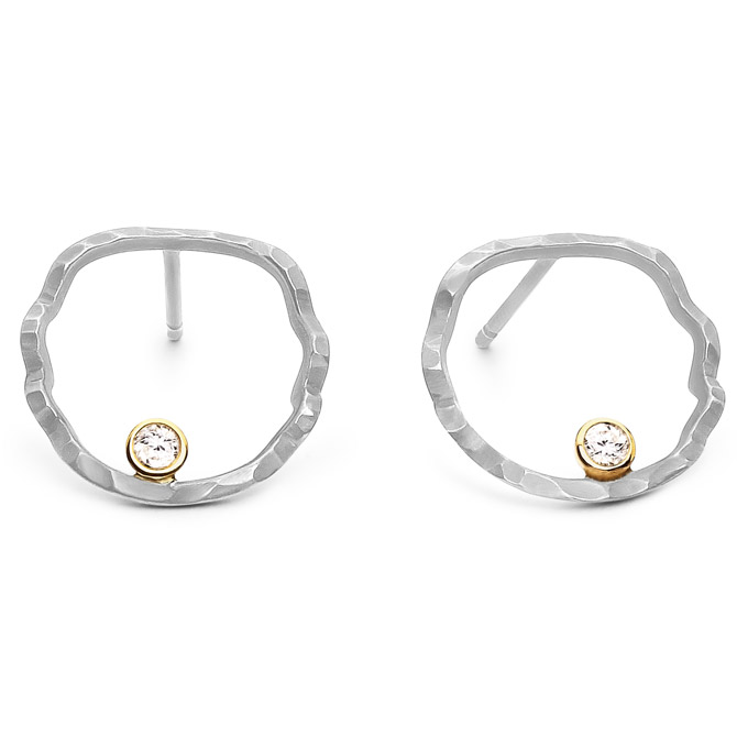 Dana Bronfman open silhouette earrings
