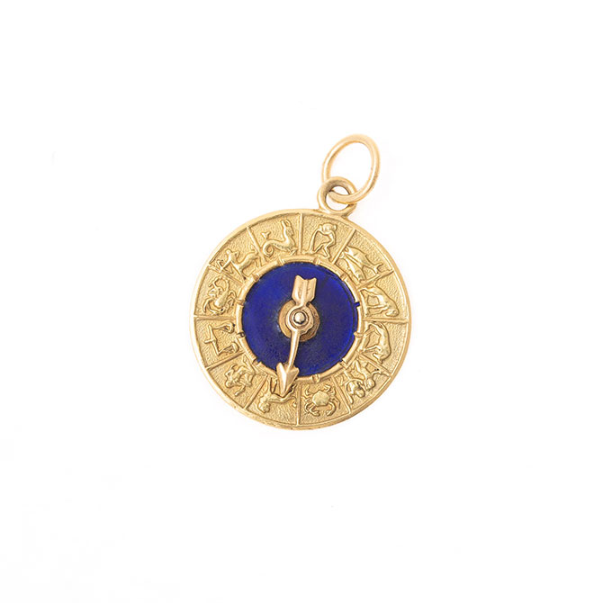 Fox and Bond vintage zodiac charm