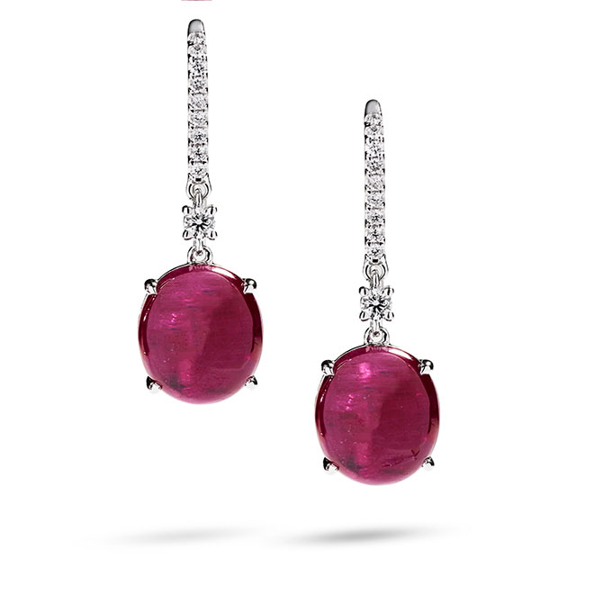 Greenland Ruby earrings