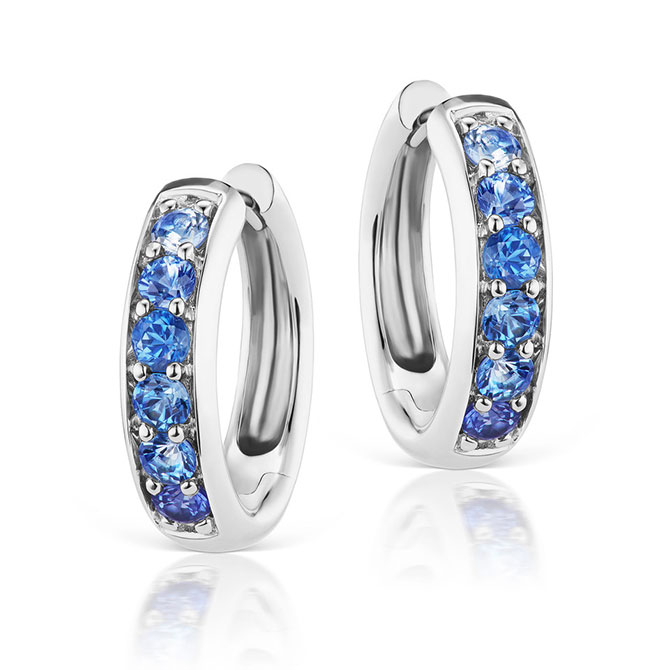 Jane Taylor Cirque sapphire earrings