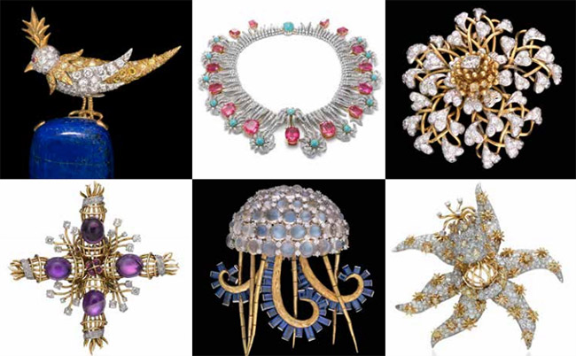 Jean Schlumberger jewelry exhibit