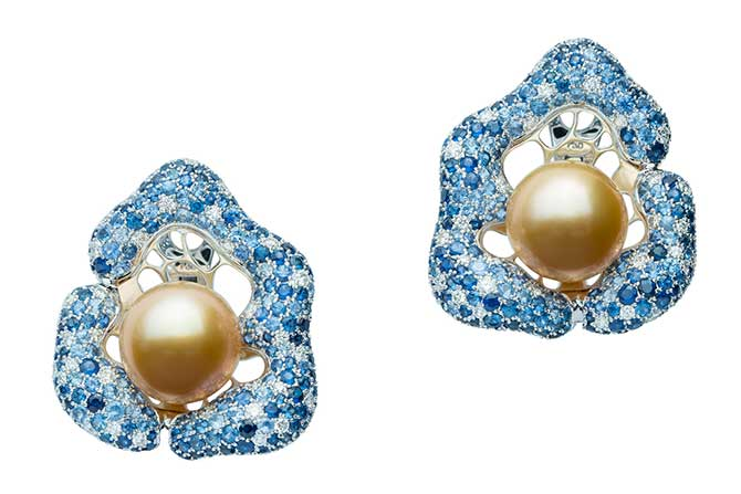 Jewelmer La Mer en Majeste earrings