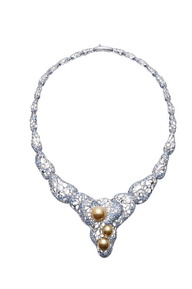 Jewelmer La Mer en Majeste necklace