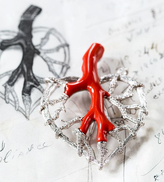 Jhanna coral heart