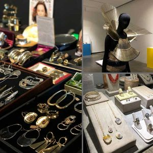 Katonah museum of art jewelry pop up event and exhibit