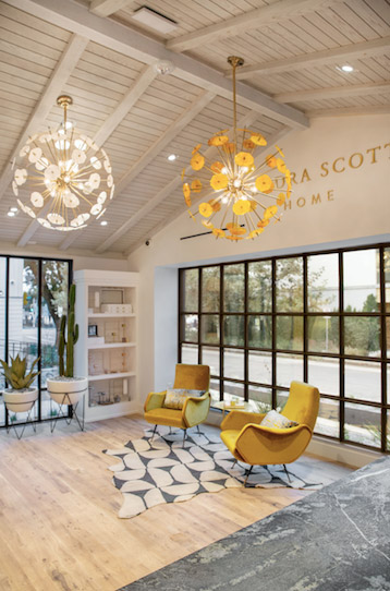 Kendra Scott home section Austin flagship